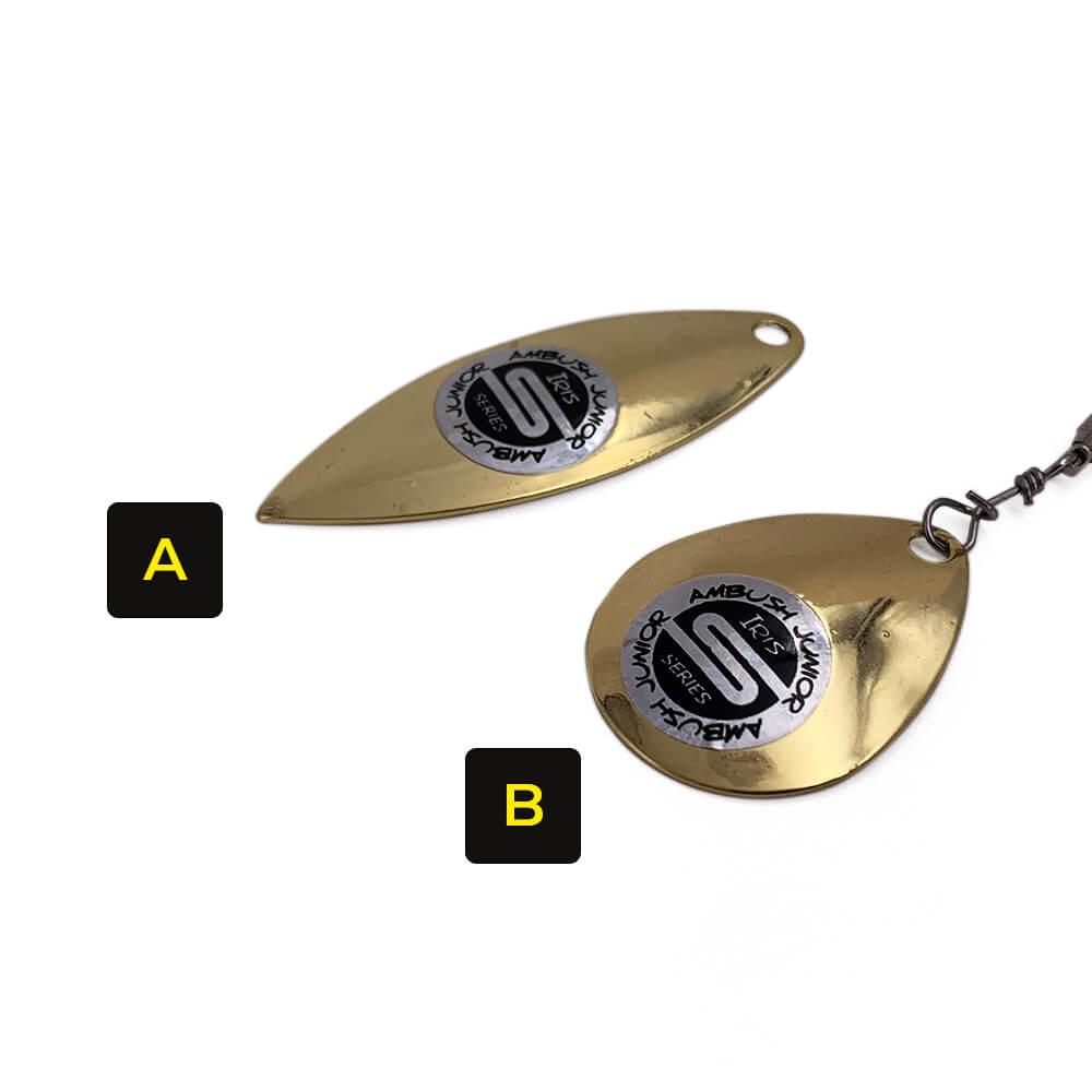 Iris Ambush Spinnerbait - Key Feature - Attachments