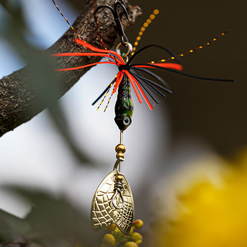 Featured Image - Mayfly Micro Spinner Bait